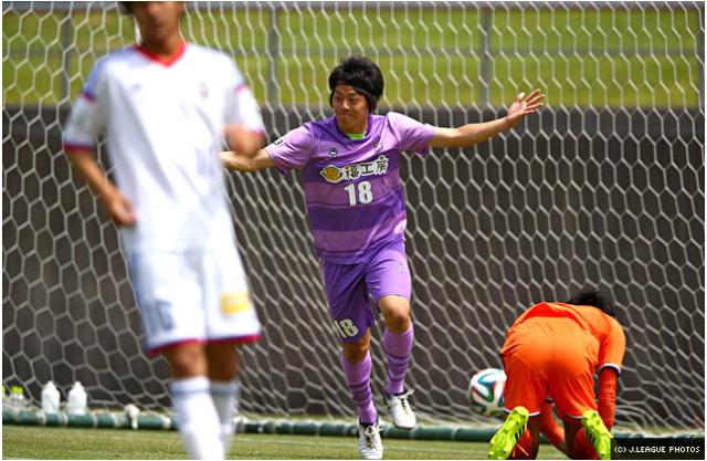 Tsugutoshi Oishi celebrating his opener