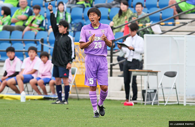Daisuke Ichikawa made the pitch for the first time